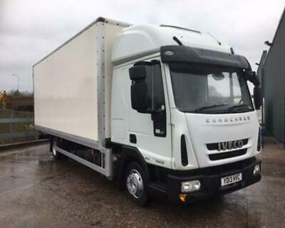 2013/13 Iveco Eurocargo 75E 7.5 Tonne, 22Ft Box With High Roof Sleeper Cab