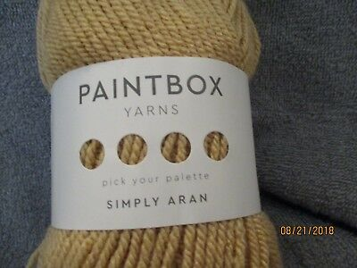 PAINT BOX SIMPLY Aran ROYAL BLUE 3 5 oz 201 yds 100% Acrylic Worsted