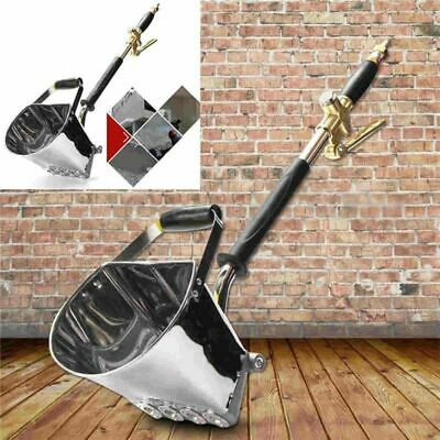 Cement Sprayer Gun Wall Mortar Gun Stucco Shovel Hopper Ladle Air Stucco Sprayer