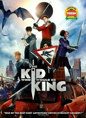 The Kid Who Would Be King [DVD] [2019] NEW- Action, Family-FREE SHIPPING!!!!!