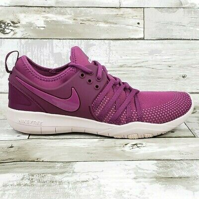 huge discount e9353 3f404 Nike Free TR 7 Womens Shoes Purple Tea Berry White 904651-603 Size 8