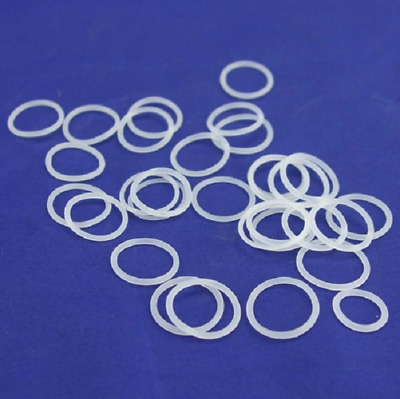 White Food Grade Silicon Rubber O-Ring Seals Washer Cross Section 42 OD