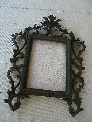 Antique Victorian Rococo Ornate Picture/Mirror Frame Caste Metal