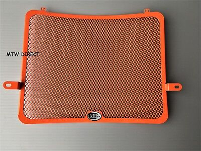 KTM 1290 Super Adventure 2015 - 2018 R&G Racing orange radiator guard cover