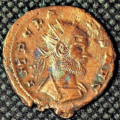 Roman Ancient Coin . Claudius II, was Roman emperor from 268 to 270. AD