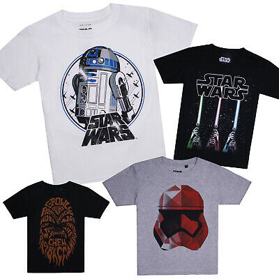 Star Wars Official Age 7-12 Candid Kids T-Shirt