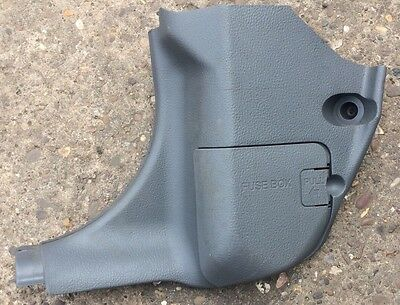 mazda 6 n/s left passenger side foot well interior fuse box cover gj6a-