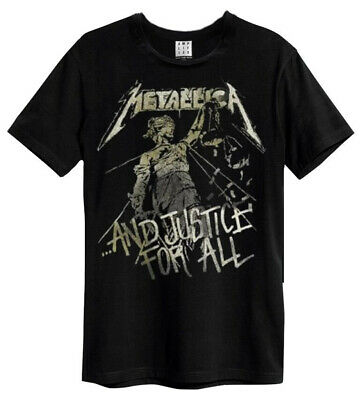 22058bdc8e82e METALLICA T-SHIRT AND Justice For All Tracks Homme Noir - EUR 19,93 ...