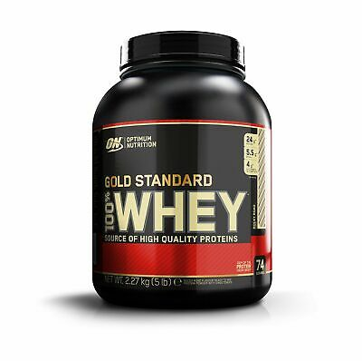 Optimum Nutrition Gold Standard 100% Whey Proteine del Siero di Latte in Polv...