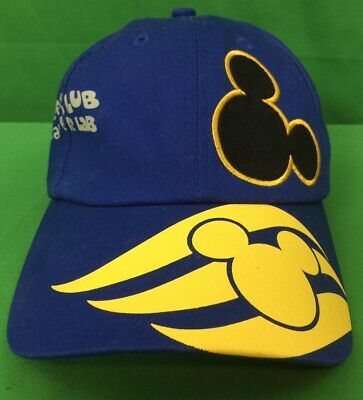 40e79a26be9c5 Mickey Mouse Cap Hat Disney Cruise Line Oceaneer Blue 100% Cotton One Size