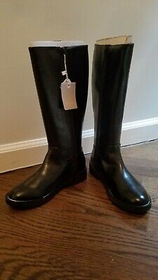Kids Girls Stud Boots Size 34 Black From Zara