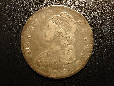 1836 capped bust half dollar, lettered edge