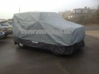 Landrover Series 1 - 3 LWB Stormforce PLUS EXTRA DEEP Outdoor Car Cover - NEW