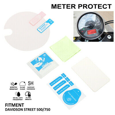 Motorcycle Meter Screen Protector Dashboard for  Street 500 750