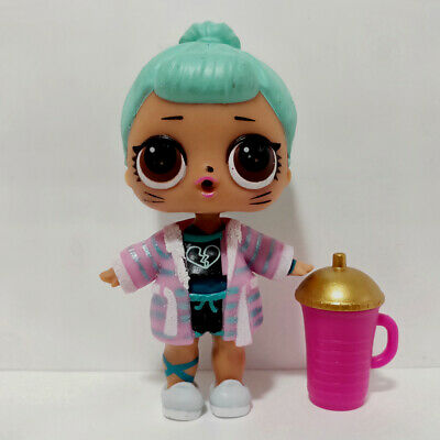 lol doll Big Sister Series 2-028 Cat Face Blue Hair DIY Pink Dress Kids Gift