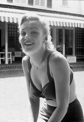 MARILYN MONROE  YOUNG BEAUTY in BRA TOP  (1) RARE 5X7 GalleryQuality PHOTO
