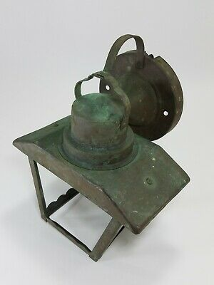 Antique Vintage Copper ARTS & CRAFTS Mission Wall Sconce Cottage Outdoor Fixture