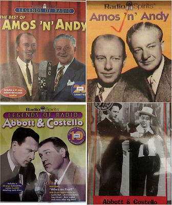 Radio Spirits Legends of old time Comedy Radio Abbott & Costello Amos & Andy
