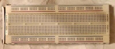 Protobloc 2 Breadboard 840 Tie Points Prototype 34-0655 Circuit Board Brand New