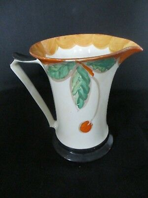 Myott Art Deco,hand painted Jug ,gold backstamp.great shape,very nice condition