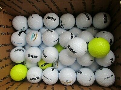 d822027823 50 Slazenger Money and RAW Golf Ball Mix in AAAA to Mint Condition