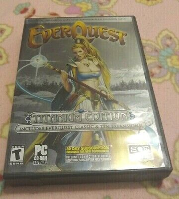 EVERQUEST: TITANIUM EDITION (PC: Windows, 2006) Account KEY