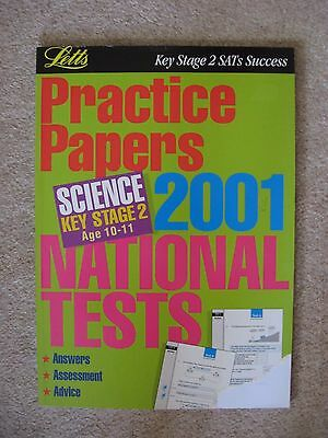 New Letts Science Key Stage 2 Practice Papers 2001 National Tests Age 10-11 Year