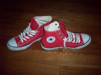 5649046e343ce CONVERSE CHUCK TAYLOR All Star Red High Top Sneakers M9621 - $49.95 ...