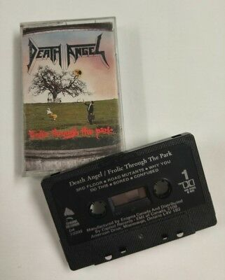 Death Angel Frolic Through The Park Cassette Tape Canada OOP Out of Print