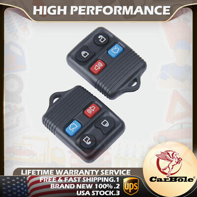 2pcs Keyless Entry Remote Control Key Fob For Ford Expedition Taurus 1998 -2016