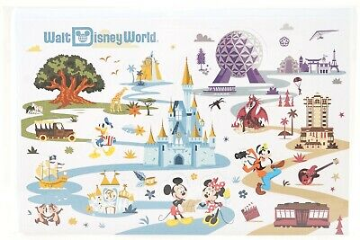 New Walt Disney World Attractions Mickey And Friends Pop Up Card With Envelope