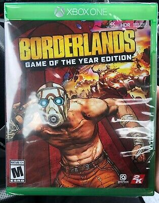 BORDERLANDS GAME OF the Year Edition PS4 2019 4K Physical Edition +