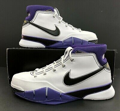 8d4aed88ba0c NIKE KOBE 1 Protro 81 Points IN HAND White Purple Black 11.5 NEW DS ...