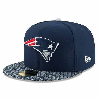 New England Patriots Nfl New Era 59Fifty Official Sideline Fitted Hat Cap $40