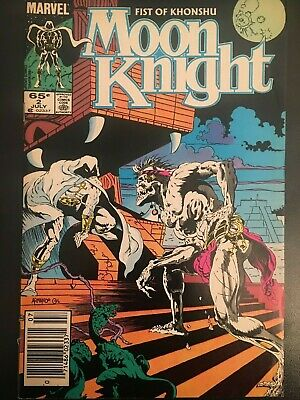 Moon Knight #2 Vol 2  Marvel Comics VFN   B&B
