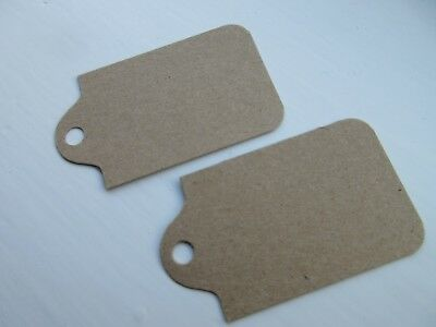 100pcs Brown Kraft Gift Tags, Wedding Invitations, Place Cards, Blank Label