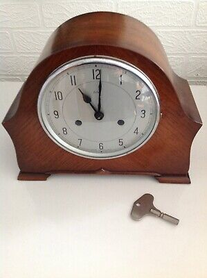 Enfield ?1950s chiming Mantle Clock Working But Needs Attention