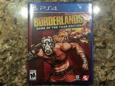Brand New! Borderlands Game of the Year Edition (Sony PlayStation 4 PS4) Sealed!