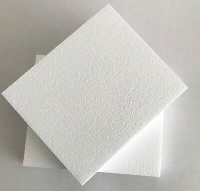 POLYSTYRENE SHEETS /PADS SD GRADE   240x200x35mm - PK 16     ART AND CRAFT USE
