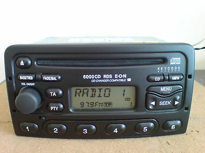Ford  CODE FOR YOUR RADIO