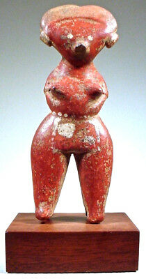 Pre-Columbian NAYARIT CHINESCA FIGURE EX SOTHEBY'S '78