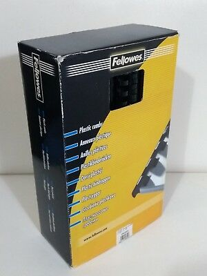 Fellowes Plastic Combs For Use With Comb Binding Machine A4