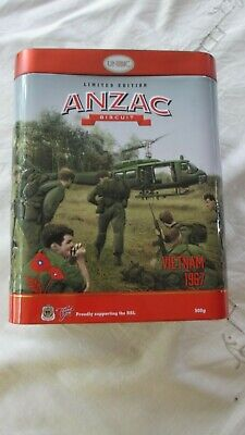 Anzac Biscuit Tin Vietnam 1967 Limited Edition 2018