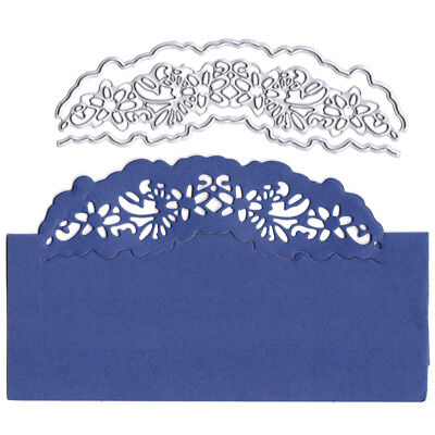 Card lace decor Metal Cutting Dies for DIY Scrapbooking Album Embossing Craft FB