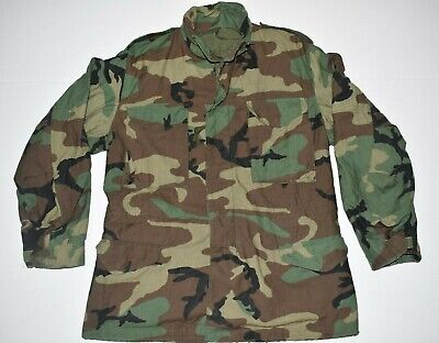 6024e06f6 US ARMY CAMOUFLAGE Field Coat Cold Weather Size X-Small Regular ...