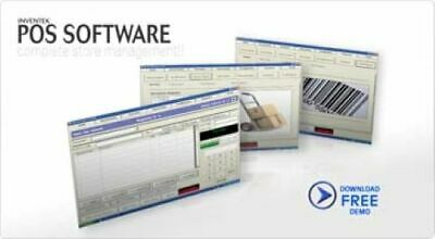 InventekPOS Retail Point of Sale System Software with 60 Day FREE Tech Support
