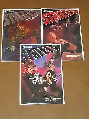 Streets #1 - 3 Vf Dc Comics Complete Series James Hudnall Criminal Noir Mature