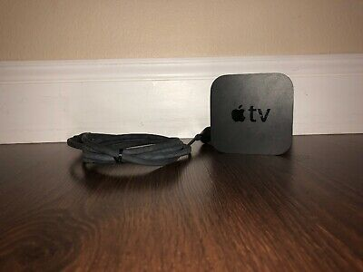 Apple TV A1469 3 3rd Generation MD199LL/A Streaming Media Player w Cable, Remote