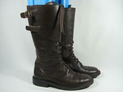 6c35490b1ab Camper Lace Up Knee High Boot Women size 38 8 Brown Leather