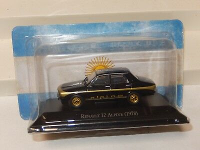 Renault 12 Alpine Diecast Car inolvidables Argentina New Sealed 1/43 USA Seller